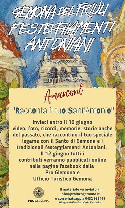 Racconta il tuo Sant'Antonio